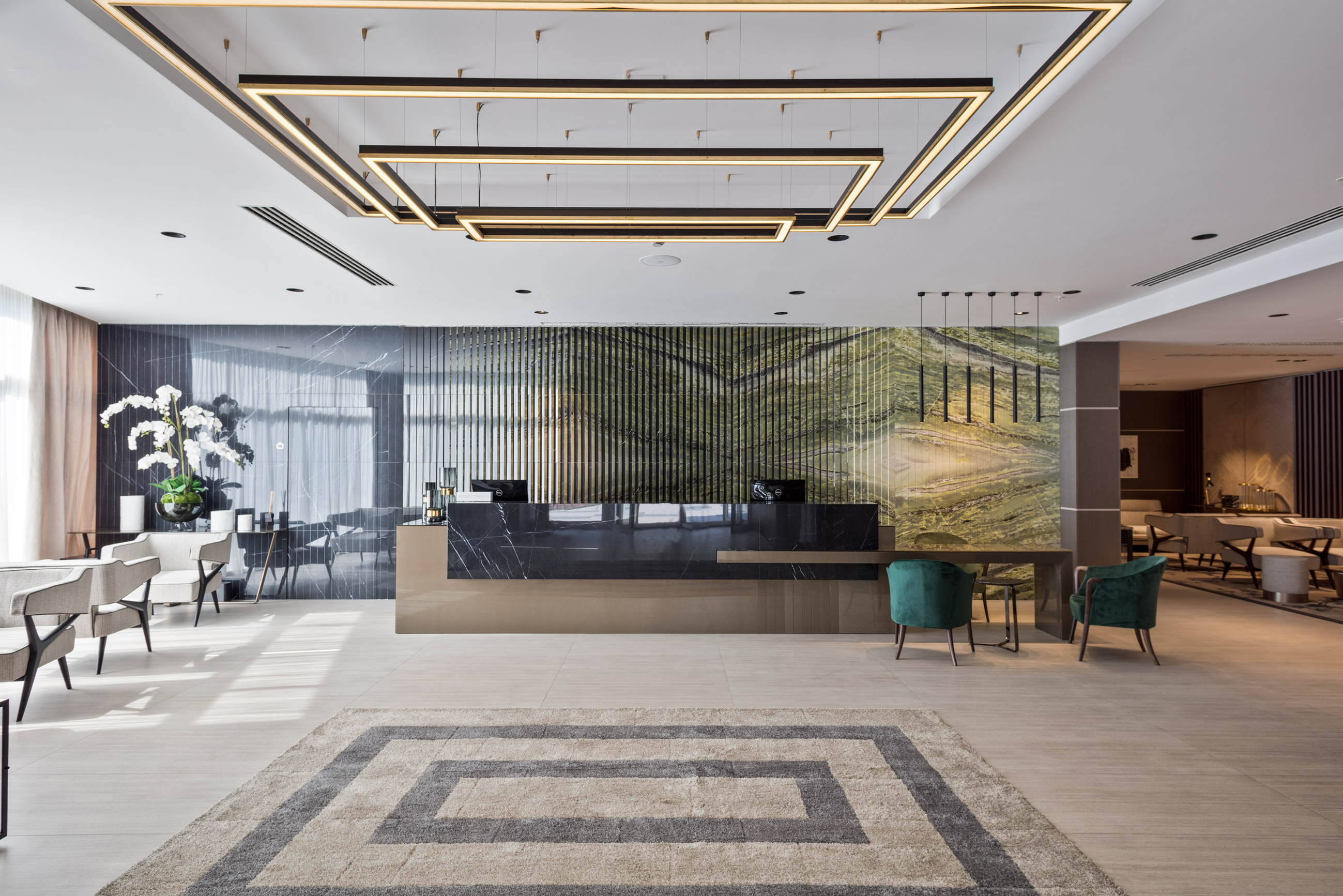 Enterijer hotela Melia 5*