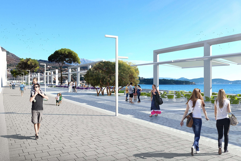 Rekonstrukcija obalne zone – trgova, saobraćajnica i šetališta u Sutomoru