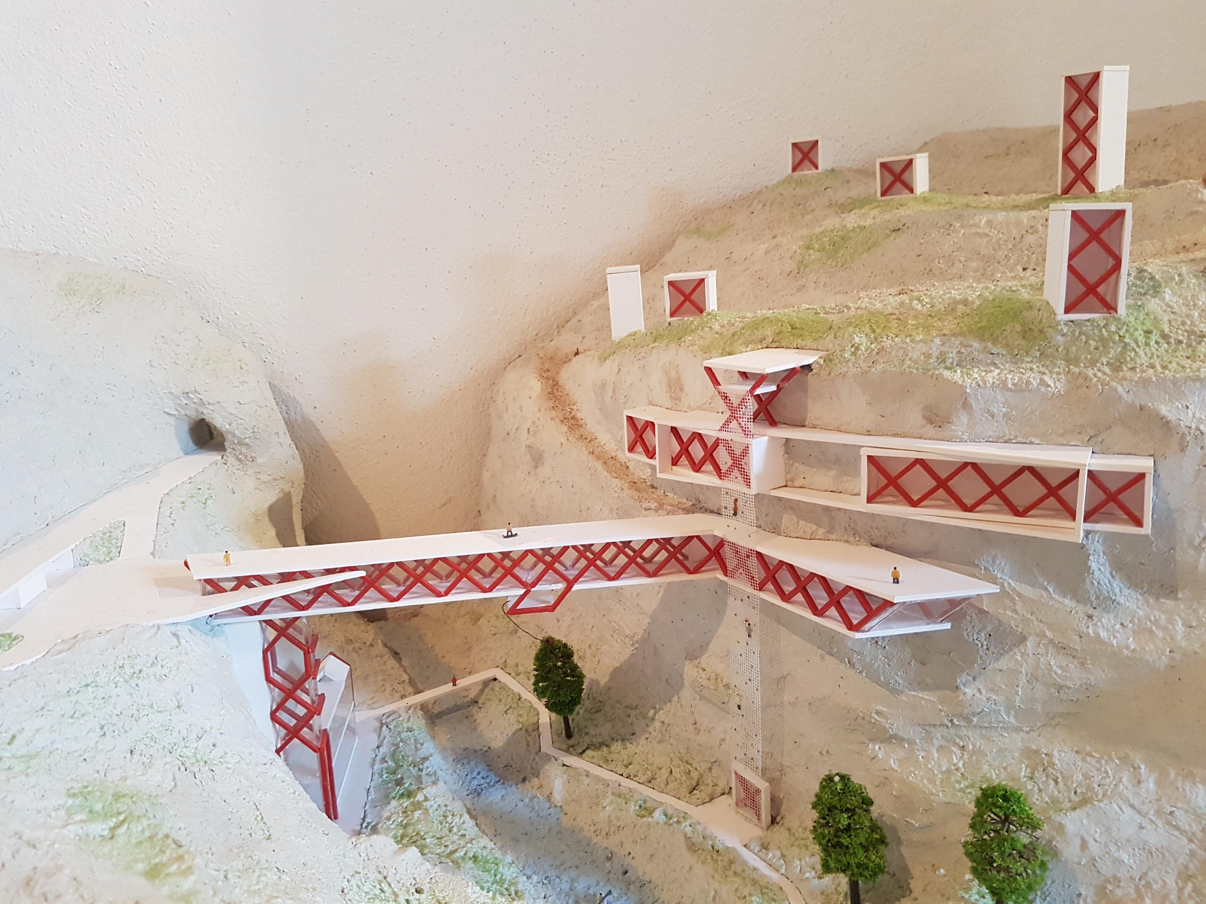 Urbanističko-arhitektonsko rješenje kompleksa ekstremnih sportova u kanjonu Platije