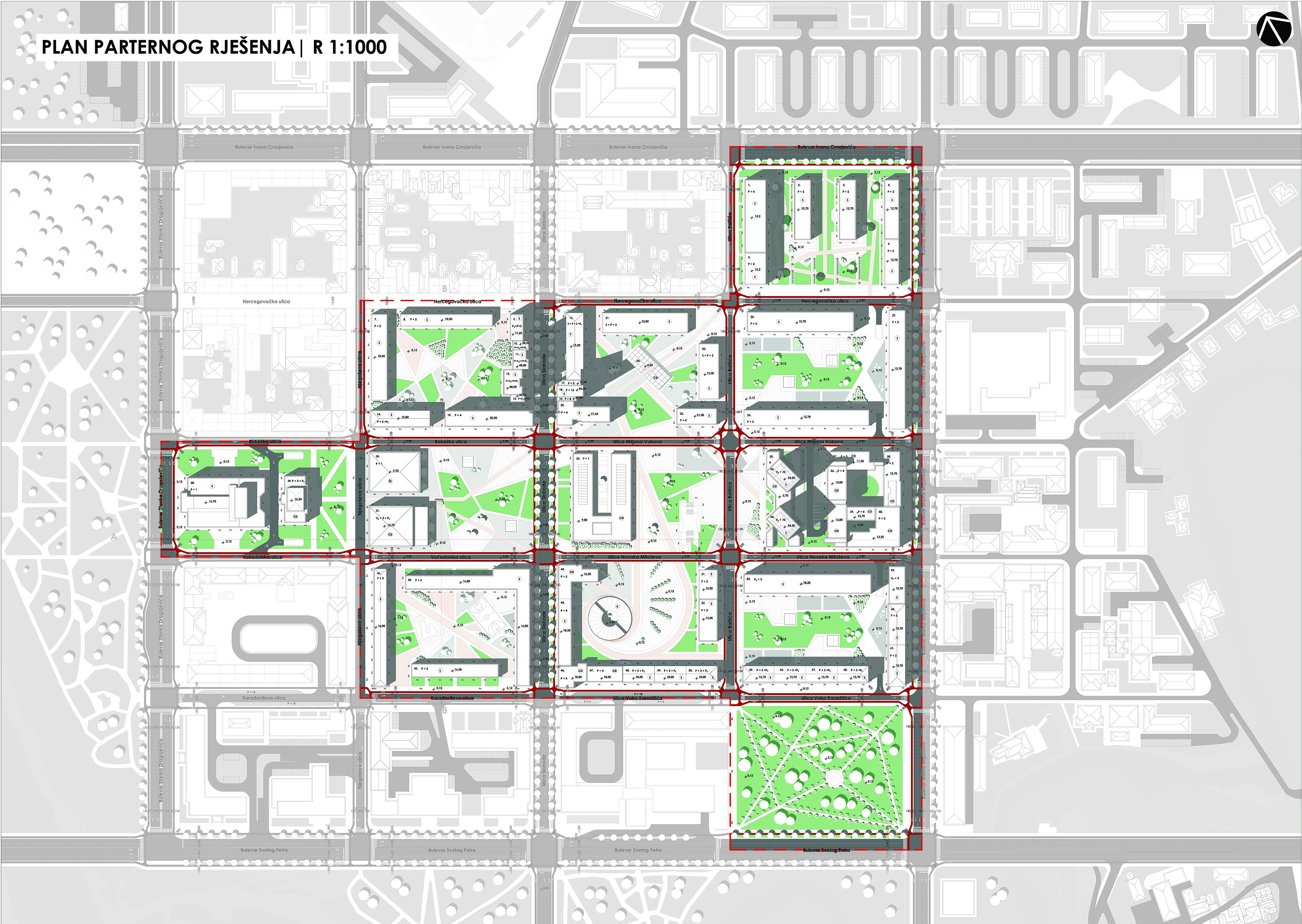 Revitalizacija javnih prostora u centralnom dijelu Podgorice