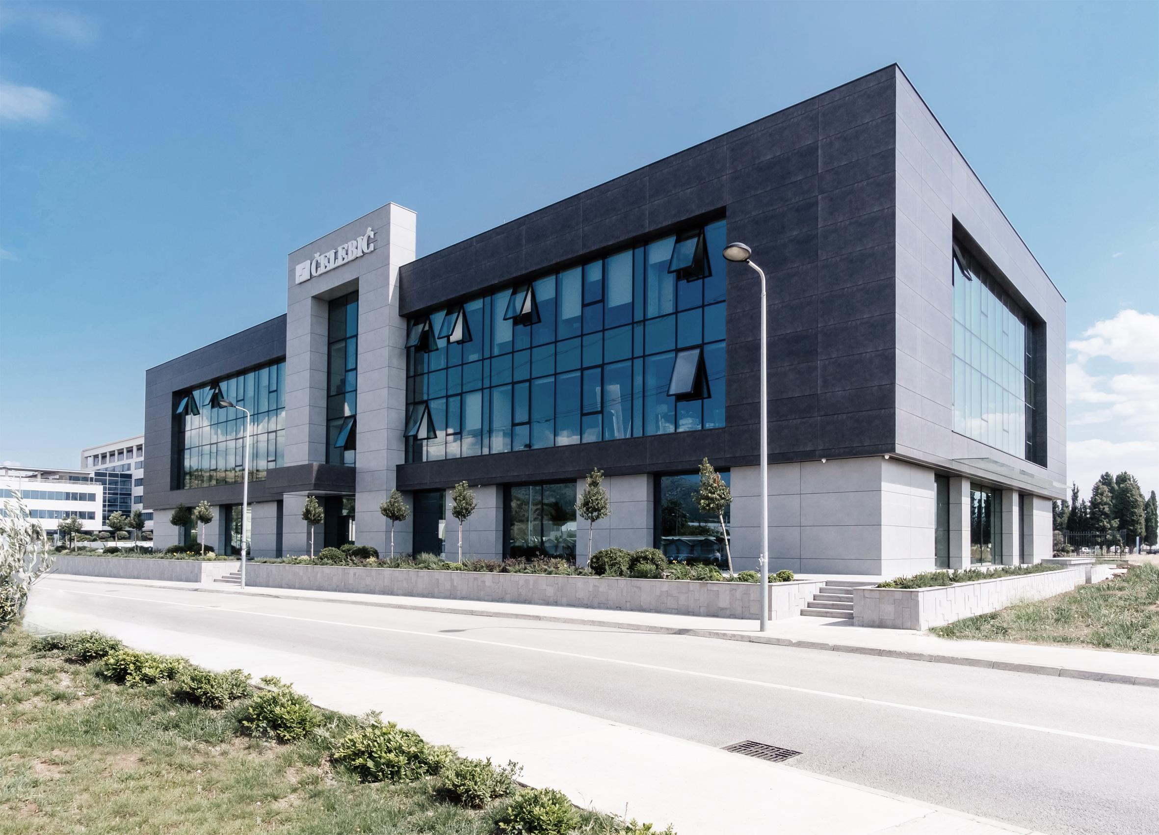 """Upravna zgrada kompanije """"Čelebić"""""""