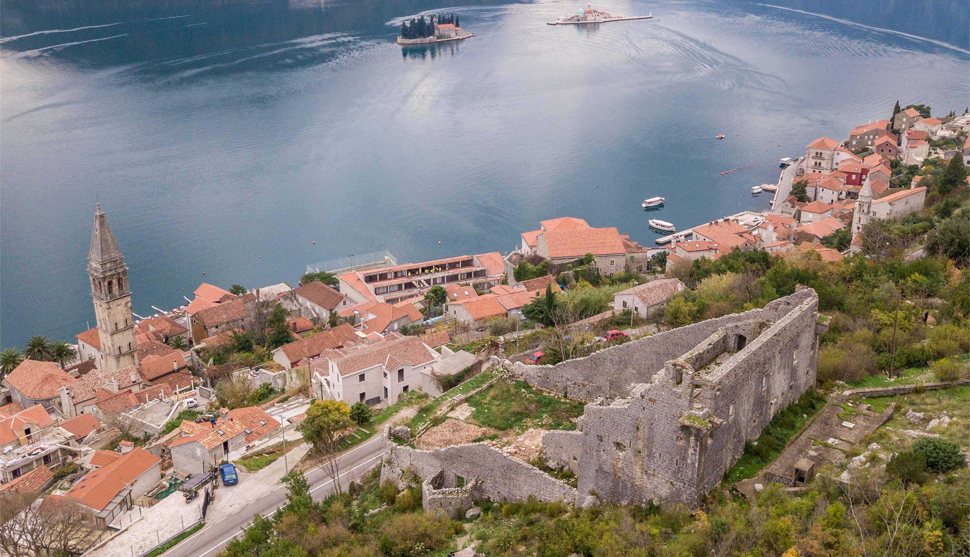 Studija tvrđave Sv. Krsta u Perastu