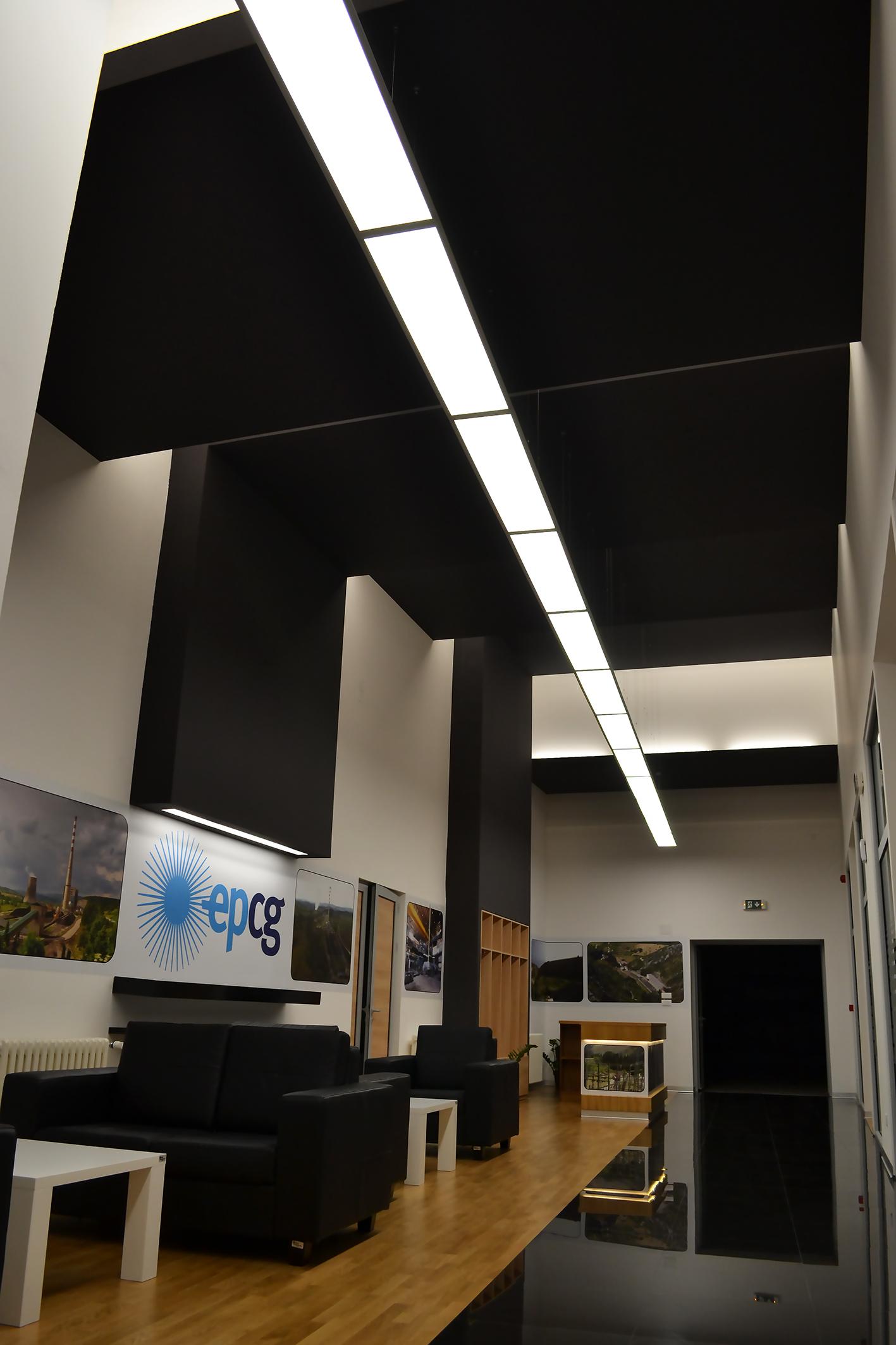Multimedijalna sala sa lobijem u okviru upravne zgrade EPCG u Nikšiću
