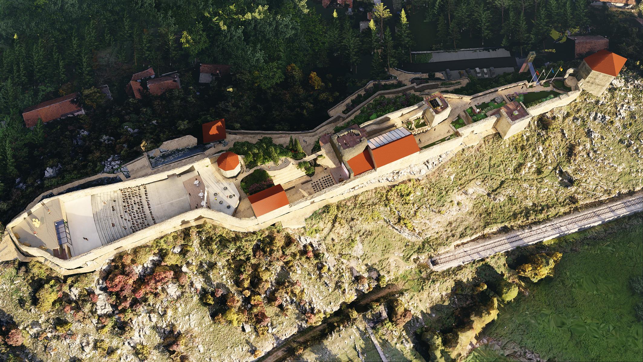 Revitalizacija gradske tvrđave – bedema u Nikšiću